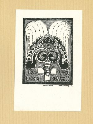 Ex Libris Laszlo - Contemporary Artwork