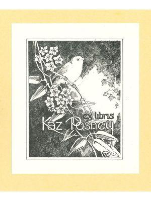 Ex Libris Kaz Posney - Modern Artwork