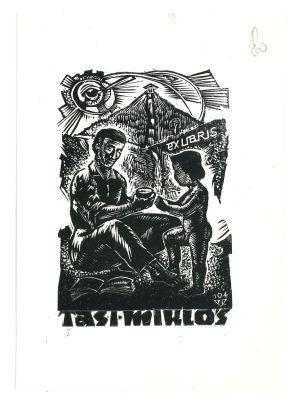 Ex Libris Tasi Miklos - Modern Artwork