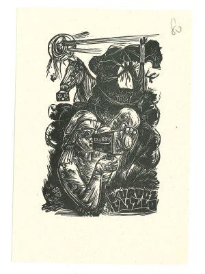Ex Libris Kurucz Laszlo - Modern Artwork