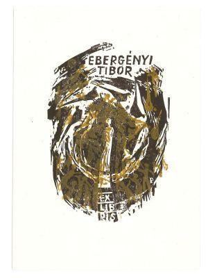 Ex libris Tibor - Modern Artwork