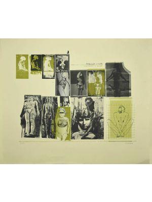 Nude by Sergio Barletta - Contemporary Artwork