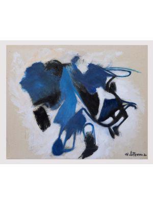 Blue Shape by Giorgio Lo Fermo - Contemporary Artwork