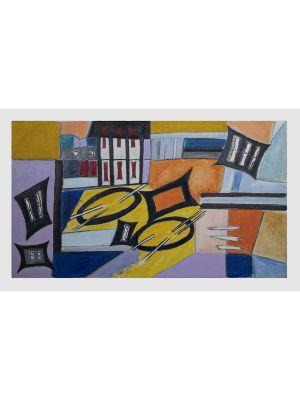 Geometrical Abstract by Giorgio Lo Fermo - Contemporary Artwork