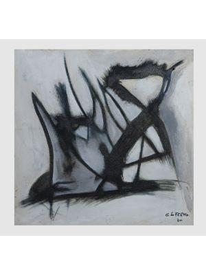 Grey Shape by Giorgio Lo Fermo - Contemporary Artwork