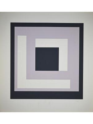 Square composition by Nato Frascà - Contemporary Artwork