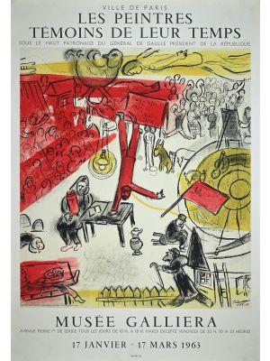 Les peintres Témoins de leur Temps by Marc Chagall - Contemporary Artwork