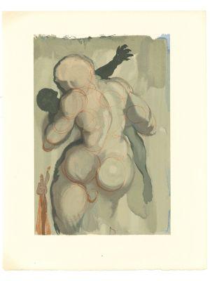 The Neglectful Meets Violent Death by Salvador Dalì - Contemporary Art