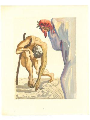 The Climbing by Salvador Dalì - Contemporary Art