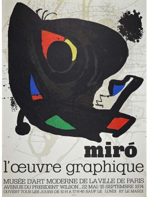 Mirò - l'oeuvre graphique by Joan Mirò - Contemporary Artwork