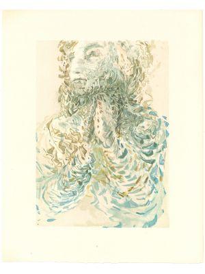 Cacciaguida Sees Dante's Exile in God by Salvador Dalì - Contemporary Art