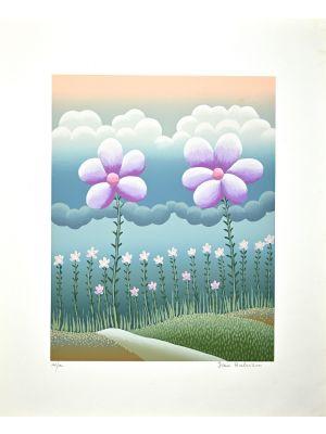 Field of flowers by Ivan Rabuzin - Contemporary Artwork