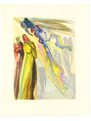 The Two Circles of Spirits by Salvador Dalì.