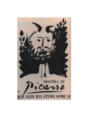 Faun - Poster - Picasso Exhibition in Milan Palazzo Reale - Prints & Multiples