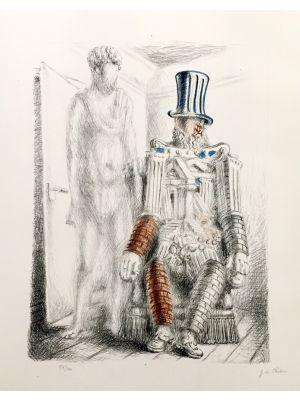 Le Retour du Fils Prodigue I by Giorgio de Chirico - Surrealism