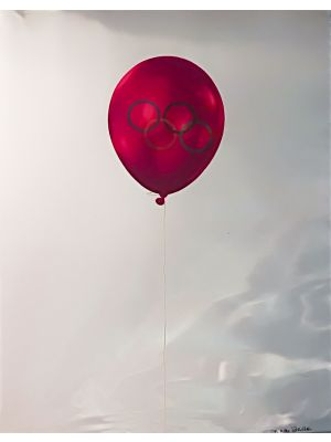 Olympic Balloons - Sarajevo 1984 by Michelangelo Pistoletto - Contemporary Artwork