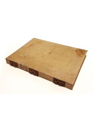 Cover on ancient parchment,