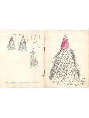 A.A.V.V., Cy Twombly, Mostra personale, Galleria la Tartaruga, Roma, 1963