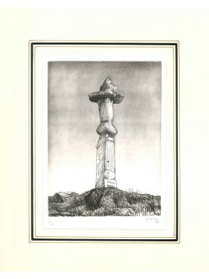 Henry Moore, Glenkiln Cross, Plate II, Etch., Aquatint and Drypoint, 1972, Contemporary Art, Artwork