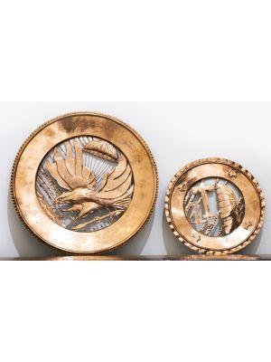 Couple of Copper Pierced Plates - Modern Artworks