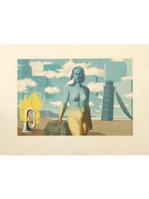 Le Domaine Enchanté VI by René Magritte - Surrealism