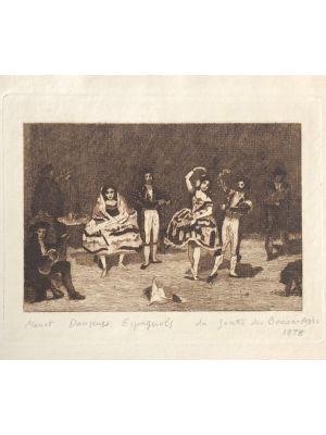Cover of Danseurs Espagnols by Édouard Manet - Modern Art