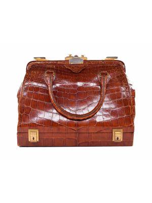 Crocodile Vintage Travel Bag