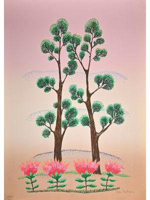 Ivan Rabuzin - Pink Sky - Contemporary Art