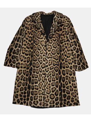 Vintage Leopard fur Coat by Joseph Palla