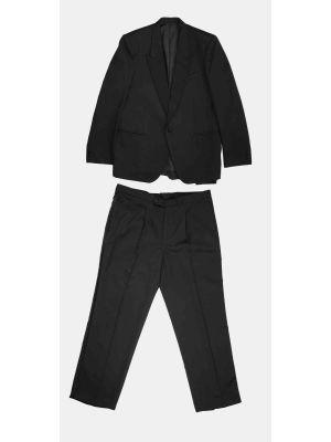 Elegant Vintage Black Tailored Tuxedo Men in Cotton