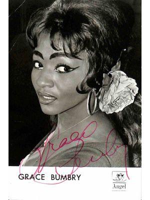 Grace Bumbry Autographed Photograph