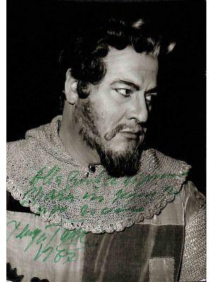 Giuseppe Taddei Autographed Photograph
