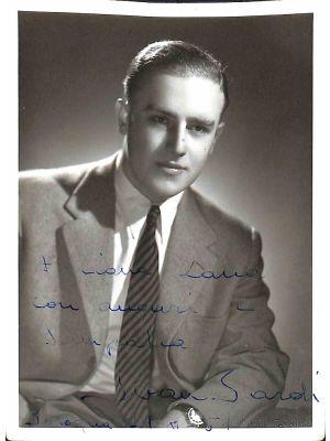 Ivan Sardi Autographed Photograph