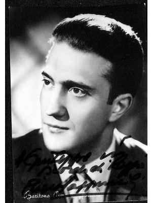 Piero Cappuccilli Autographed Photograph
