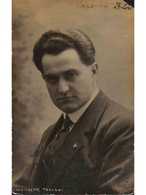 Giuseppe Taccani Autographed Photograph