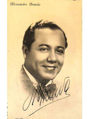 Alejandro Granda Relayza Autographed Photograph