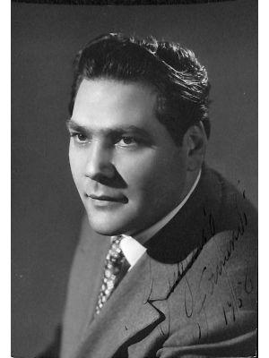 Eugenio Fernandi Autographed Photograph