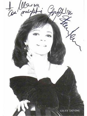 Giusy Devinu Autographed Photograph