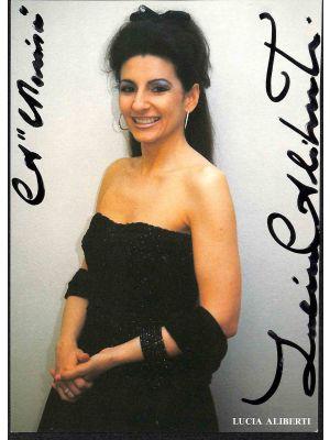 Lucia Aliberti Autographed Photograph