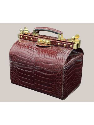Vintage Crocodile Beauty Case