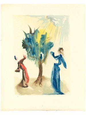 Salvador Dalì - The Tree of Punishment - Contemporary Art