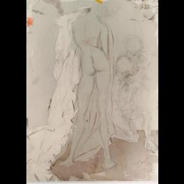 Salvador Dali The Beauty Of Susanna From Biblia Sacra Buy Online Surrealist Artwork On Wallector Com Wallector Com
