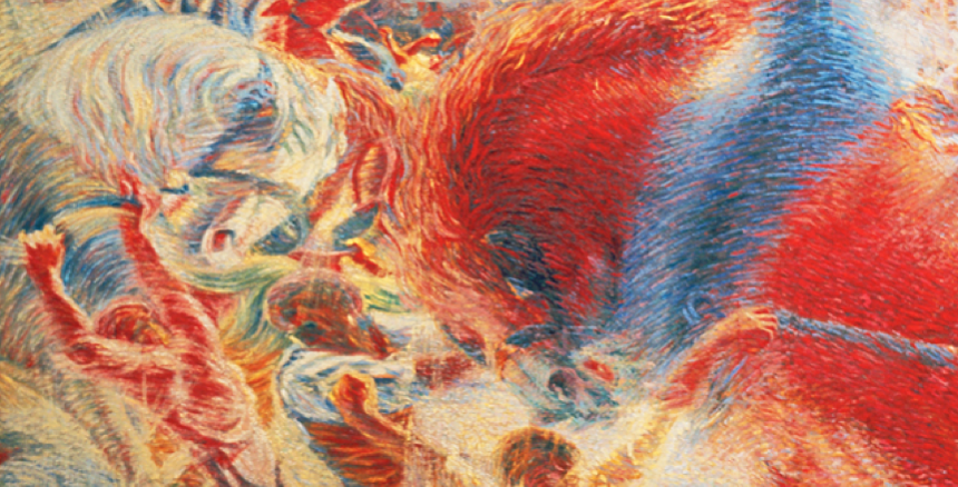 "Boccioni's ""The City Rises"" : A Futurist Manifesto"