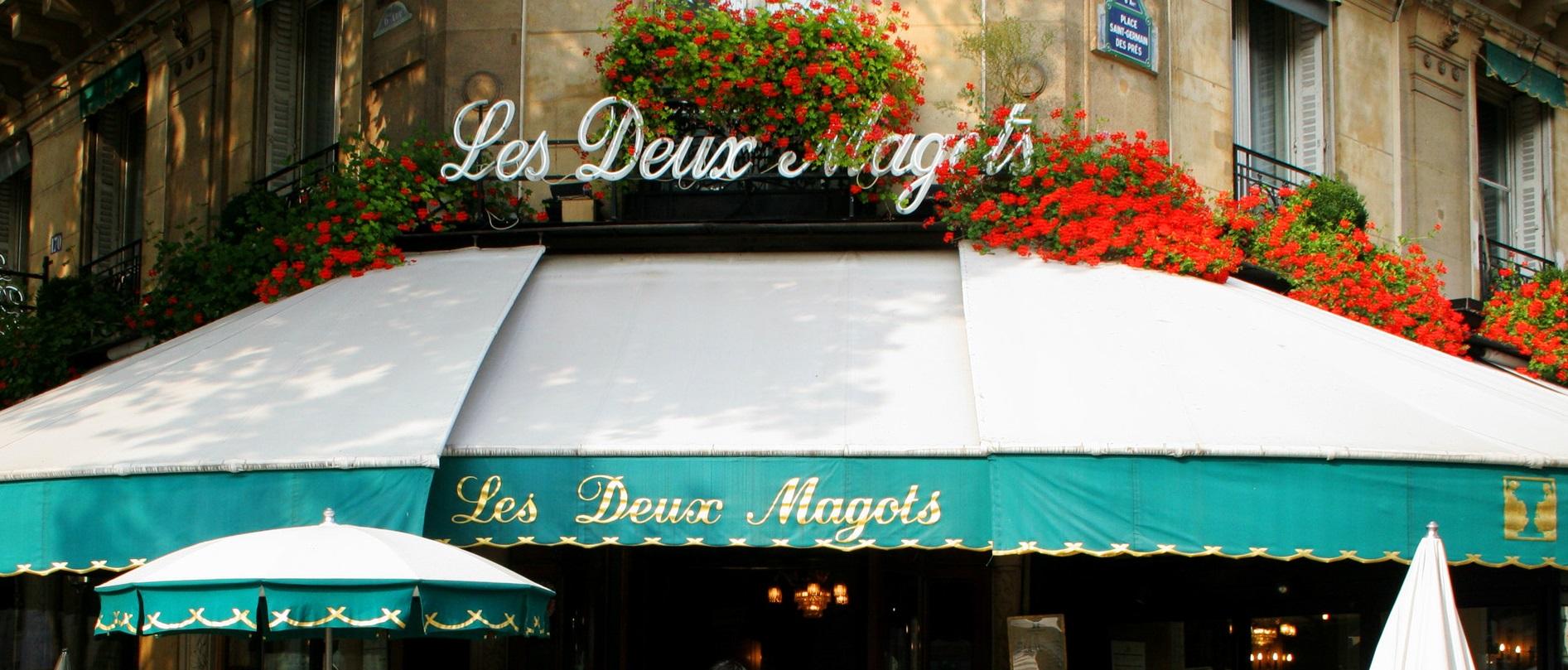 Midnight in Les Deux Magots