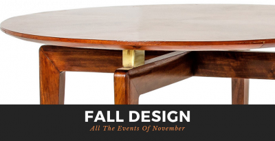 Fall Design: All The Events Of November!