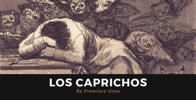 "The Print Series ""Los Caprichos"" by The Artist Francisco Goya!"